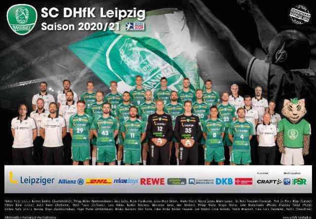 SC DHfK Leipzig - Handball Bundesliga Saison 2020-2021 - Copyright: SC DHfK Leipzig