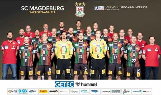 SC Magdeburg - Handball Bundesliga und EHF European League Saison 2020-2021 - Copyright: SC Magdeburg