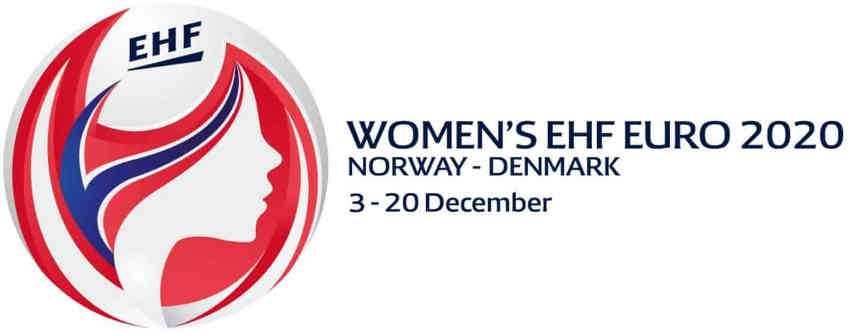 Handball EM 2020 Frauen EHF EURO Logo - Copyright: EHF Media