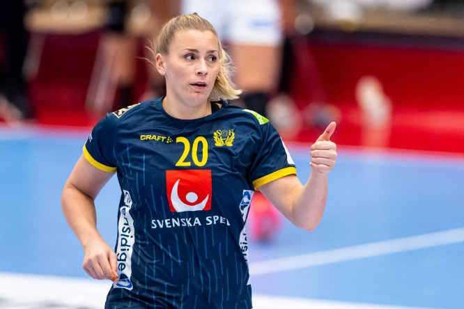 Isabelle Gullden - Handball Schweden - Copyright: Christoffer Borg Mattisson / Handbollslandslaget