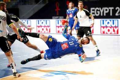 Handball WM 2021 - Frankreich vs Schweiz - Ludovic Fabregas - Copyright: FFHANDBALL / S.PILLAUD