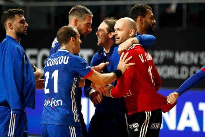 Handball WM 2021 - Frankreich vs Schweiz - Vincent Gerard - Copyright: FFHANDBALL / S.PILLAUD