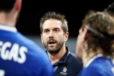 Handball WM 2021 - Frankreich vs Schweiz - Guillaume Gille - Copyright: FFHANDBALL / S.PILLAUD