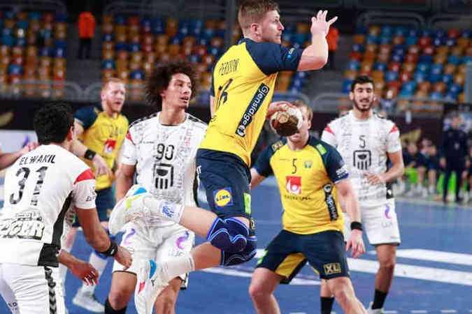 Handball WM 2021 Ägypten - Schweden vs. Ägypten - Copyright: © IHF / Egypt 2021