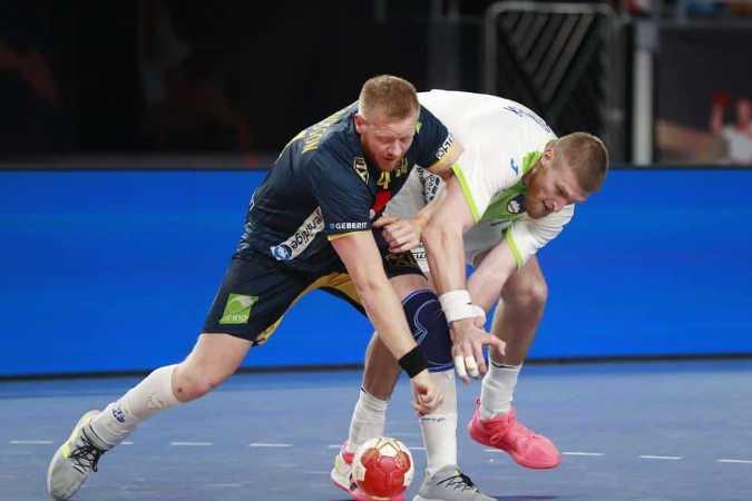 Handball WM 2021 Ägypten - Schweden vs. Slowenien - Copyright: © IHF / Egypt 2021