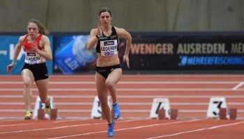 Amelie Sophie Lederer - Leichtathletik Hallen DM 2021 - Foto: Theo Kiefner