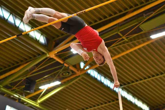 Torben Blech - Leichtathletik Hallen DM 2021 - Foto: Benjamin Heller