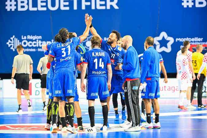 Handball Olympia Qualifikation - Frankreich vs. Kroatien - Foto: FFHandball / Icon Sport