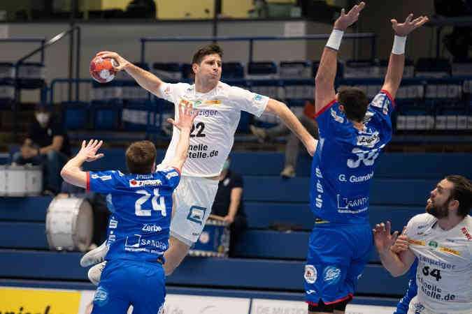 Handball Bundesliga: Marko Mamic - TBV Lemgo Lippe vs. SC DHfK Leipzig - Foto: Klaus Trotter