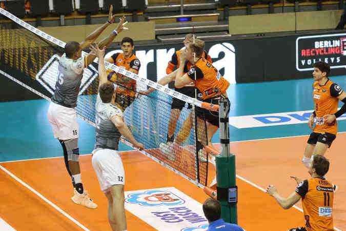 Volleyball Bundesliga - Berlin vs. Friedrichshafen - Copyright: imago