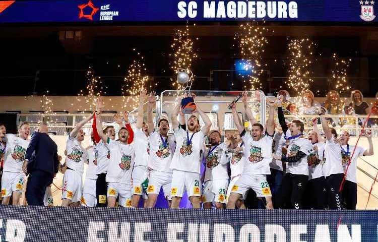 Handball EHF Finals 2021 - SC Magdeburg Sieger - Copyright: EHF/Stephane Pillaud