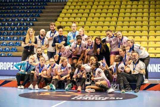 Handball EHF Finals Frauen - Nantes Atlantique - Copyright: EHF Media
