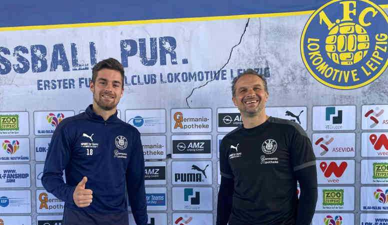 Fußball Regionalliga - Leon Heynke - Foto: 1. FC Lok Leipzig