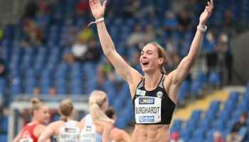 Alexandra Burghardt - Leichtathletik DM 2021 - Copyright: © DLV/Benjamin Heller