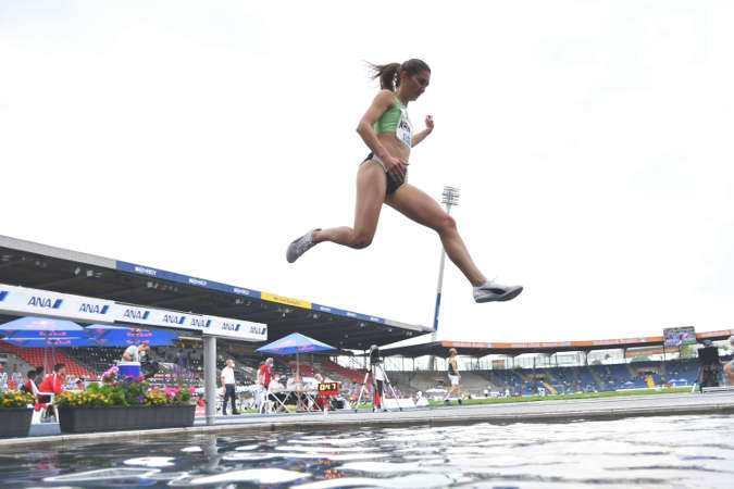 Gesa Felicitas Krause - Leichtathletik DM 2021 - Copyright: © DLV/Benjamin Heller