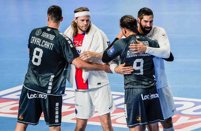 Handball EHF Final4 2021 - Paris Saint-Germain vs. HBC Nantes - Copyright: Uros Hocevar, Axel Heimken / EHF