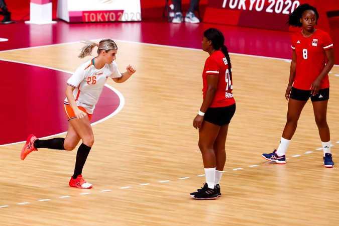 Olympia Tokio 2020 - Handball Team Niederlande - Angela Malestein - Copyright: Orangepictures