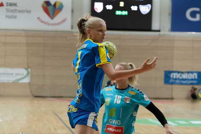 Julia Weise - HC Leipzig - Handball 2. Bundesliga - Foto: HC Leipzig