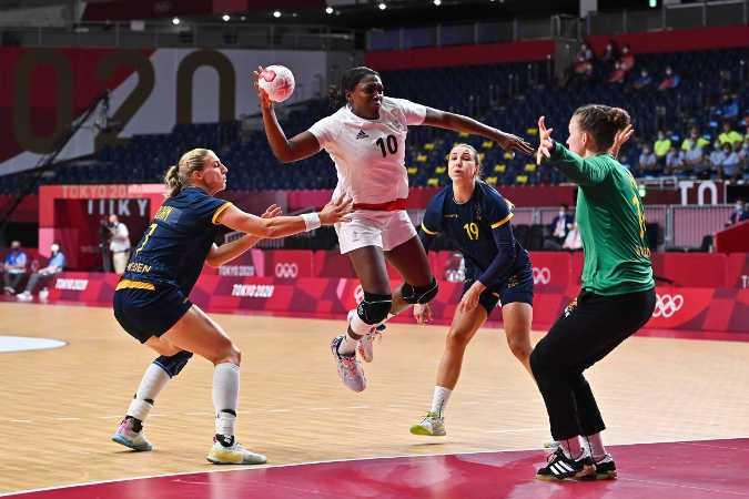 Olympia Tokio 2020 Handball - Frankreich vs. Schweden - Foto: FFHandball / Iconsport