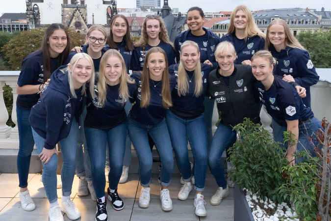 Handball 2. Bundesliga - HC Leipzig Sponsoren Veranstaltung am 21.09.2021 - Foto: HC Leipzig