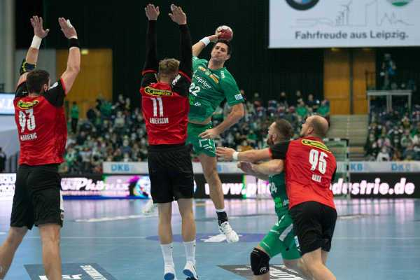 SC DHfK Leipzig vs. Füchse Berlin - Handball Bundesliga Saison 2020-2021 - Foto: Klaus Trotter