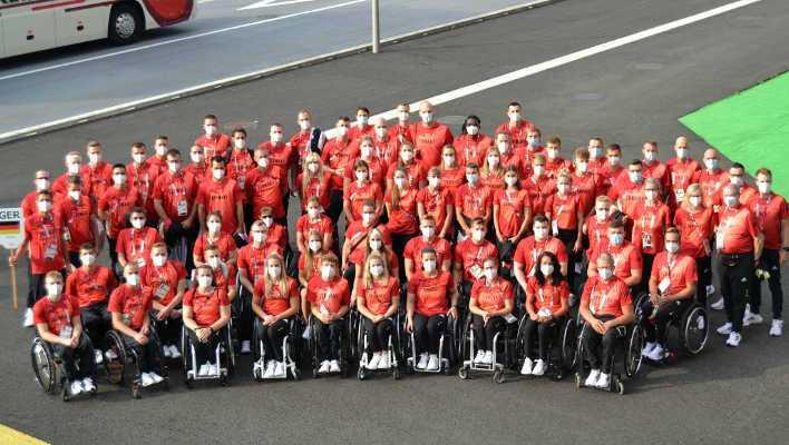 Team Deutschland Paralympics Tokio 2020 - Copyright: DBS