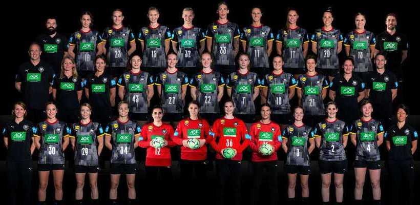 Handball Deutschland DHB - Frauen Nationalmannschaft - Copyright: Sascha Klahn / Christian Klein / DHB