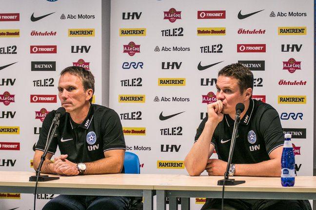Мартин Рейм(слева) и Андрес Опер(справа)
