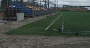 Трибуна на стадионе Фама в Нарве