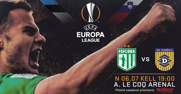 FC Flora vs NK Domžale
