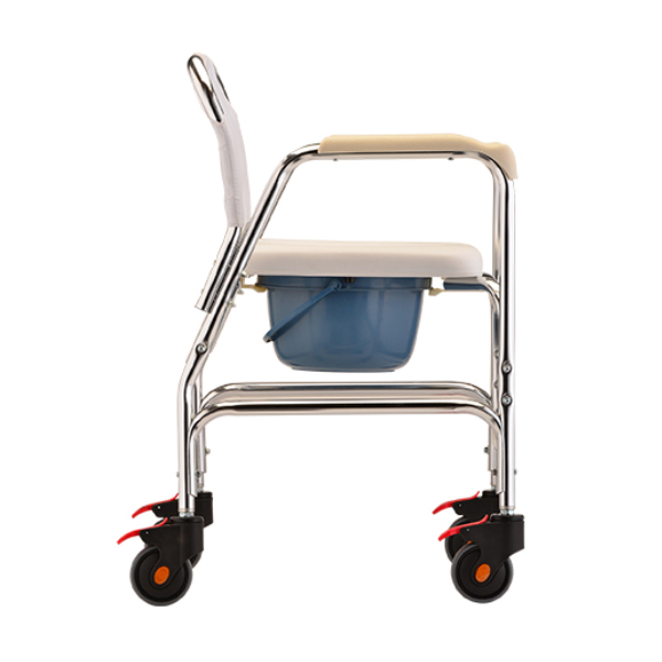 shower chair with wheels and removable arms good posture office nova rolling / commode on sale low price
