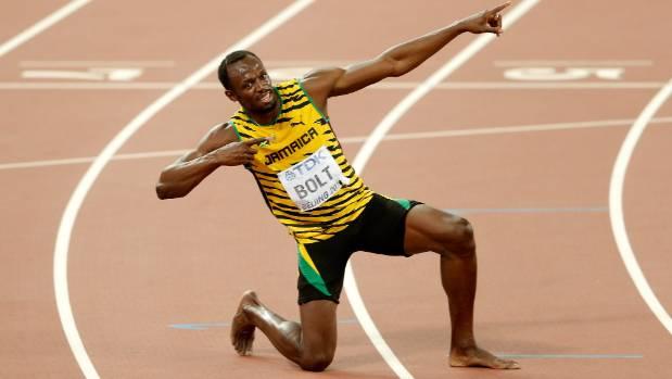 Usian Bolt celebration
