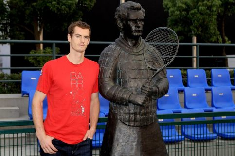 andy murray statue