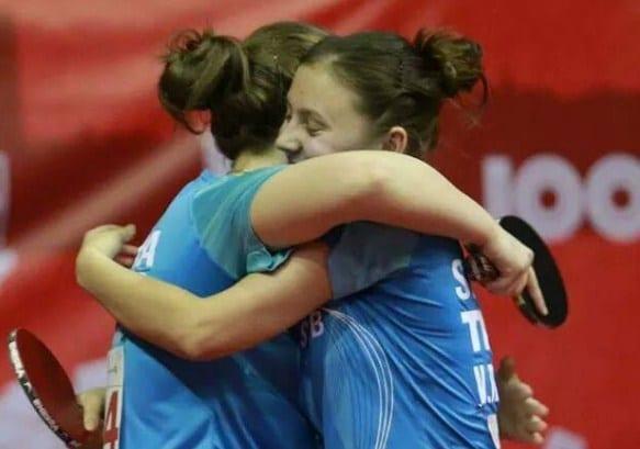 """Echipa de fete a CSM-ului aliniază două sârboaice la startul """"naționalelor"""" de tenis de masă"""