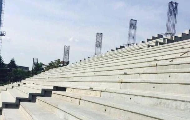 """2,5 milioane de euro de la Guvern pentru """"Francisc Neuman"""", dar lucrările la stadion ar putea fi întârziate"""