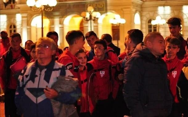Cinci grupe de copii și juniori de la UTA și două de la Atletico vor să cucereacă Barcelona