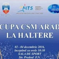 Halterofili din patru țări vin în weekend la Arad pentru Cupa CSM