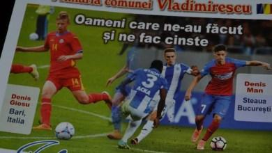 """Photo of Fotbalul la loc de cinste la Vladimirescu: """"Roger"""" Bogdan, Man și Giosu premiați la Gala Sportului și Culturii"""