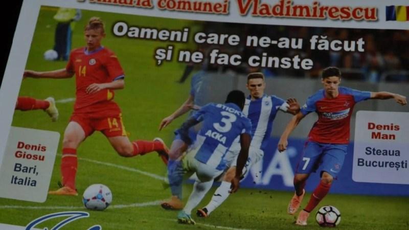 """Fotbalul la loc de cinste la Vladimirescu: """"Roger"""" Bogdan, Man și Giosu premiați la Gala Sportului și Culturii"""