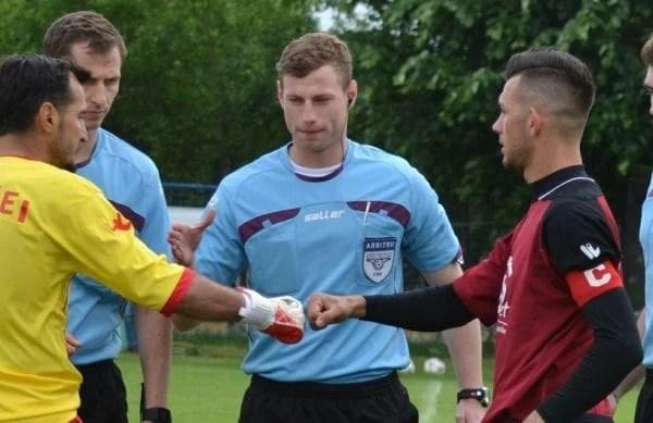 Meciurile și arbitrii etapei a 19-a în Liga a IV-a: Gornic fluieră derby-ul de podium Lipova – Curtici
