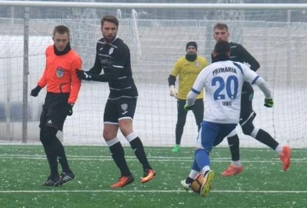 Sebișenii – înfrânți la scor de neprezentare la Timișoara, dar Cojocaru e  mulțumit de implicarea  jucătorilor săi
