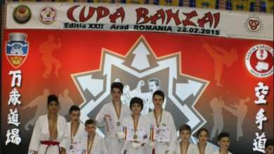 Photo of Aproximativ 350 de karateka la ediția a 24-a a Cupei Banzai