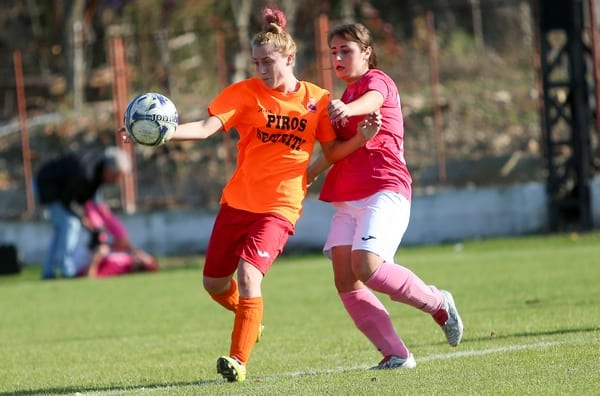 Pas important spre promovare: Banat Girls - Piroș Security 0-6