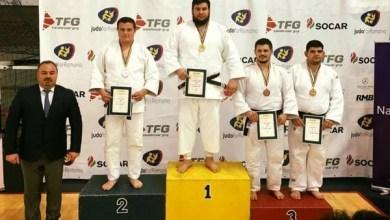 Photo of Kabat, D. Mraz și R. Nagy, medaliații Aradului la Cupa României de judo
