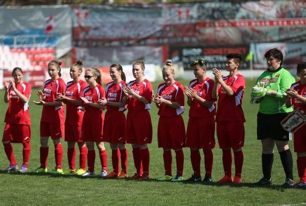 """""""Leoaicele"""" au promovat în Liga 1 după ce au defilat la Baia Mare"""