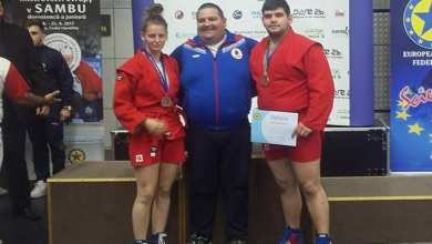 Photo of R. Nagy și Rusniac, bronz la Europenele de Sambo