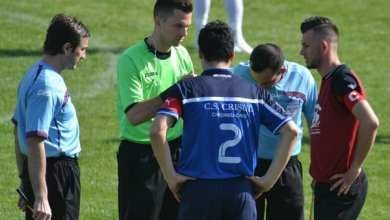 Photo of Arbitrii etapei a 25-a în Liga a IV-a Arad: Ardelean fluieră Crișul în  meciul de totul sau nimic de la Sântana