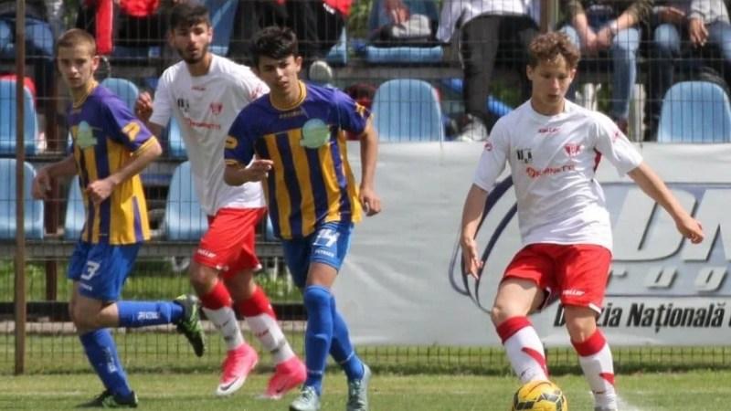 Încălzire cu eurogoluri pentru semifinala cu Craiova: UTA Under 17 – LPS Bihor 4-0