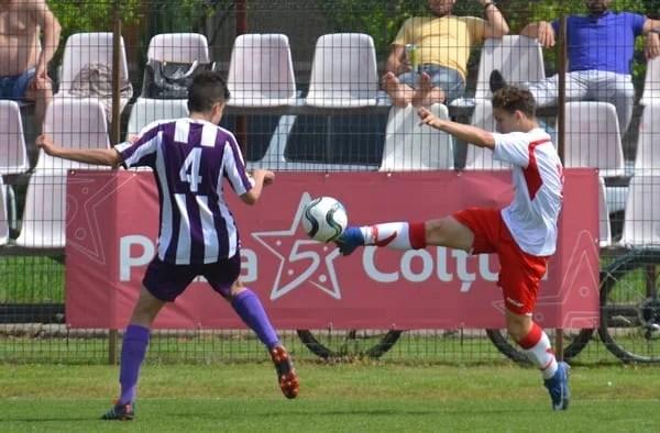 Derby adjudecat la ultima fază la Under 17 și primul loc în campionat: UTA – ACS Poli   2-1