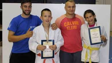 """Photo of Onețiu și Mărgărit, medaliații Sântanei la """"naționalele"""" Under 12 de judo"""